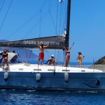 Sailing Milos